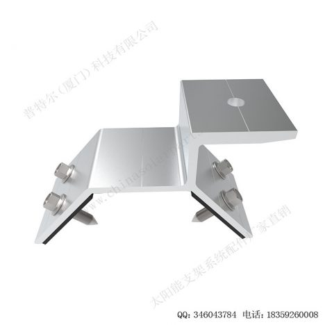aluminum trapezoidal metal roof clamps for solar mounting-SPC-CK-04-1