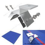 aluminum trapezoidal metal roof clamps for solar mounting-SPC-CK-04-2