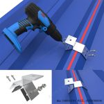 aluminum trapezoidal metal roof clamps for solar mounting-SPC-CK-04-3
