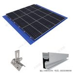 solar universal metal roof mounting system-SPC-RF-CK02A-HR -1